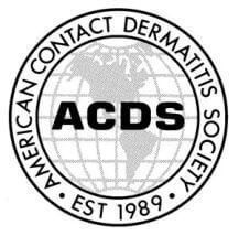 American Contact Dermatitis Society (ACDS)