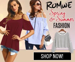 ROMWE Spring and Summer fashion